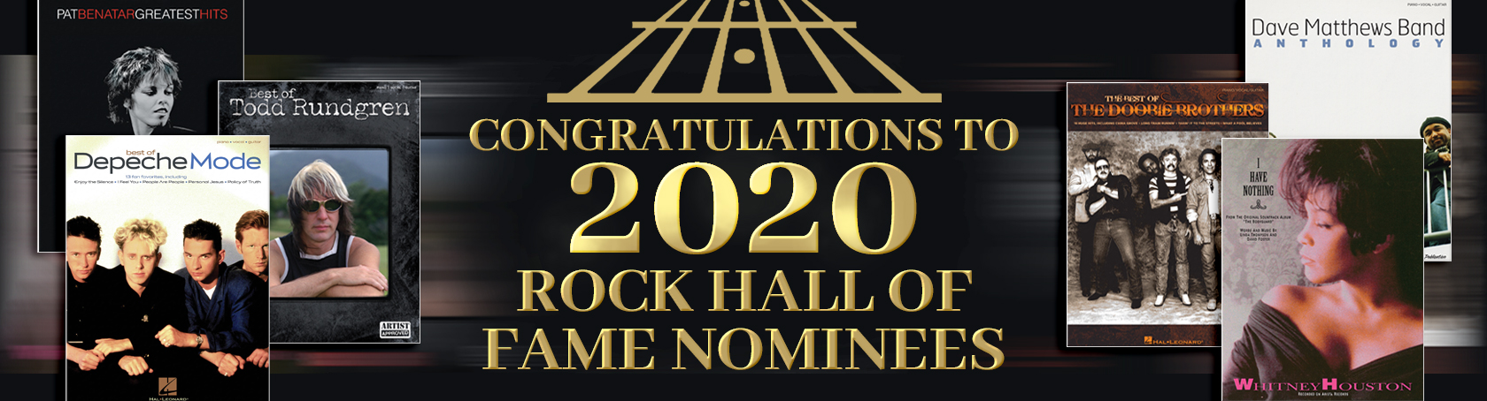 Banner for Rock 'n' Roll Hall of Fame Nominees
