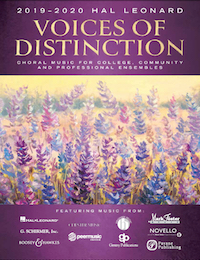 Banner for 2019-2020 Voices of Distinction