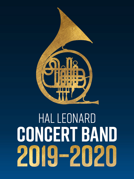 Banner for 2019 New Music for Concert Band