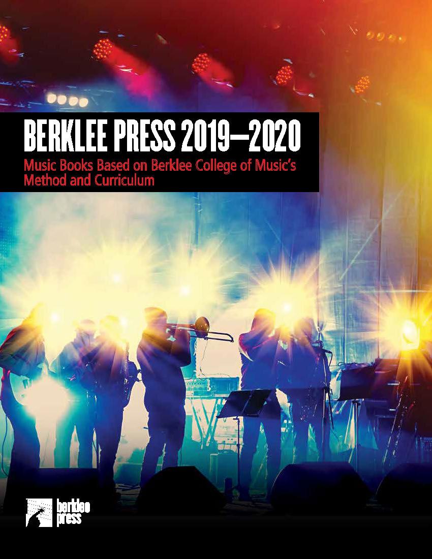 Banner for 2019-20 Berklee Press Catalog