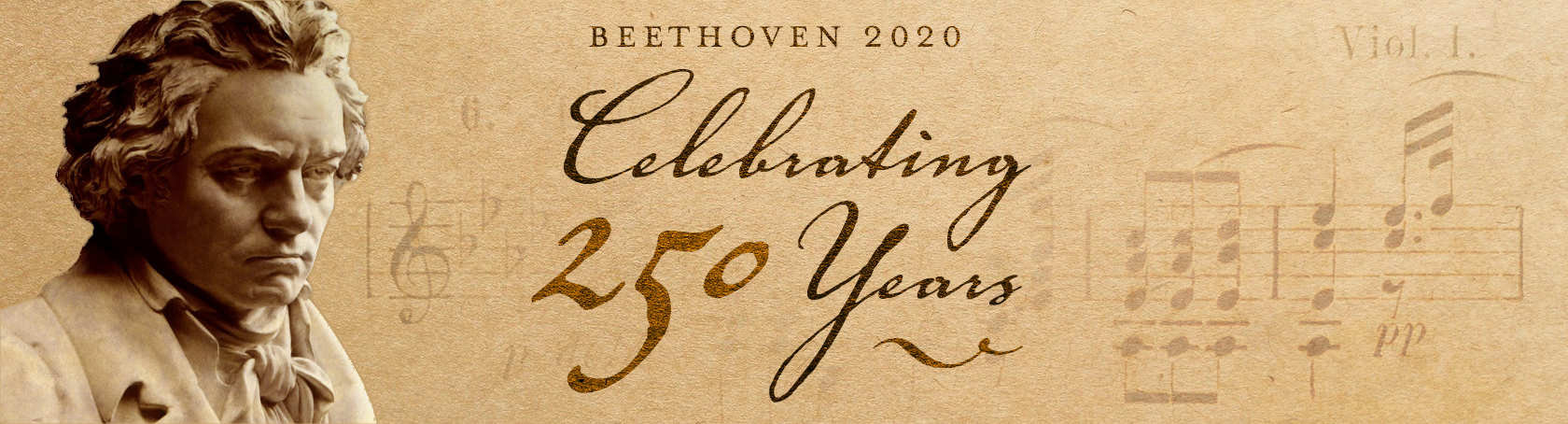 Banner for Beethoven 2020