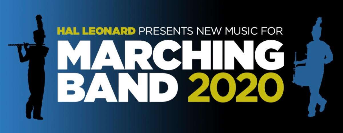 Banner for 2020 New Releases for Marching Band
