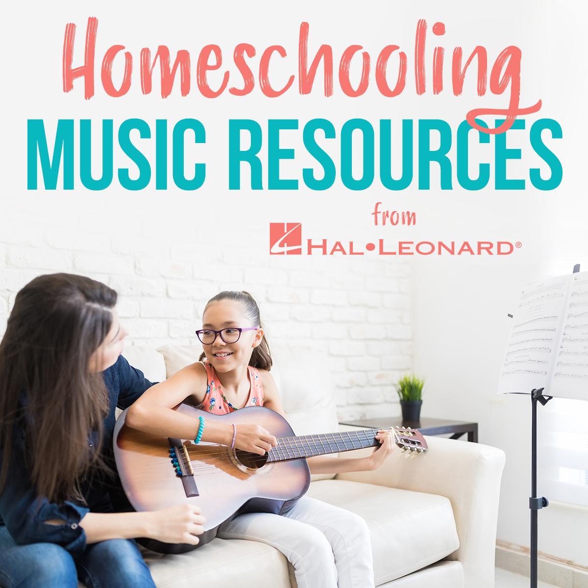 Banner for Hal Leonard Homeschooling Resources