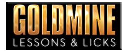 Goldmine Lessons & Licks